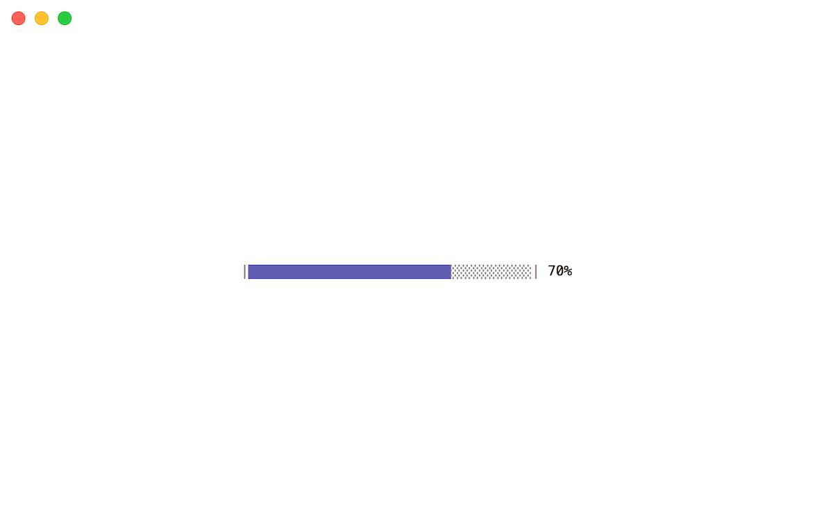 Upload progress bar